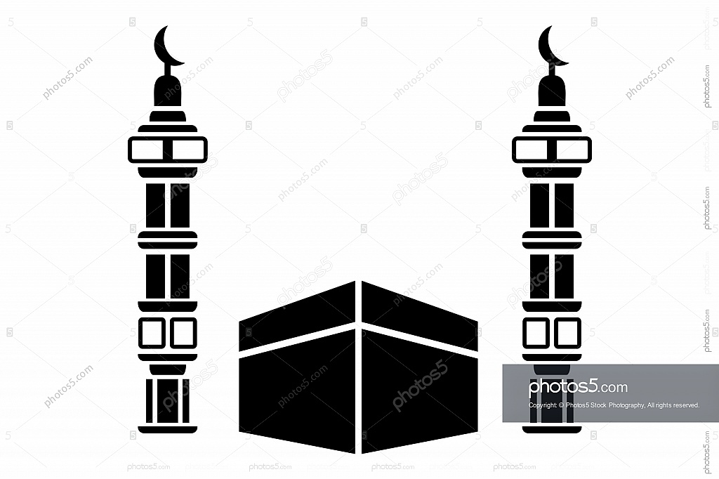 Minarets clipart Stencil Photos5 and Mosque Mosque