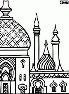 Minarets clipart De Pinterest les Coloriage Minarets