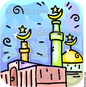 Minarets clipart Vector Minarets Islamic art Clip