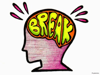 Mind clipart brain break From and give – Irish
