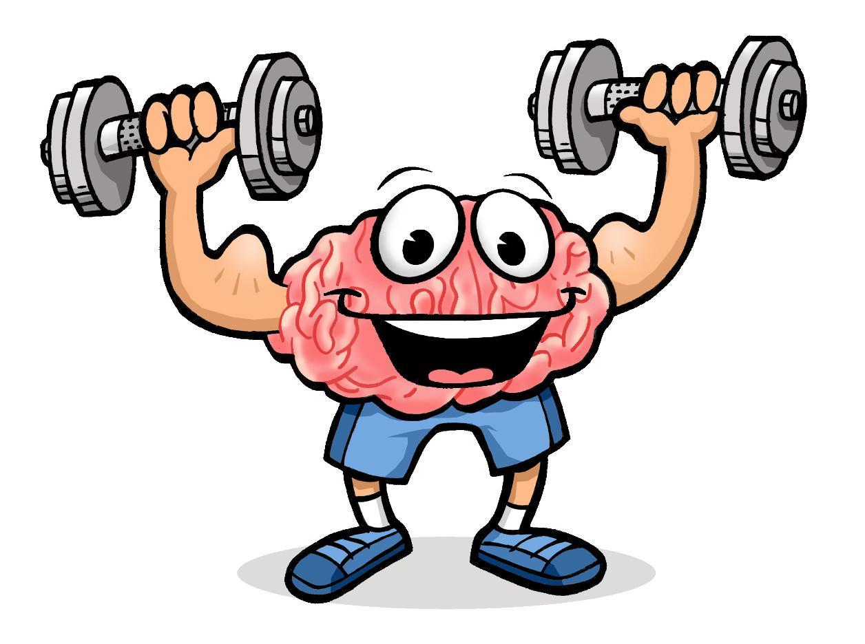 Sport clipart brain Clip Strong Art  Free