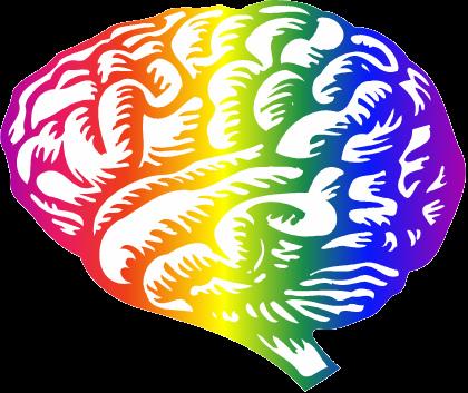 Brains clipart colorful Sans brain Luna Luna clip