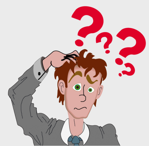 Overview clipart confused look Confused cartoon PNG  of
