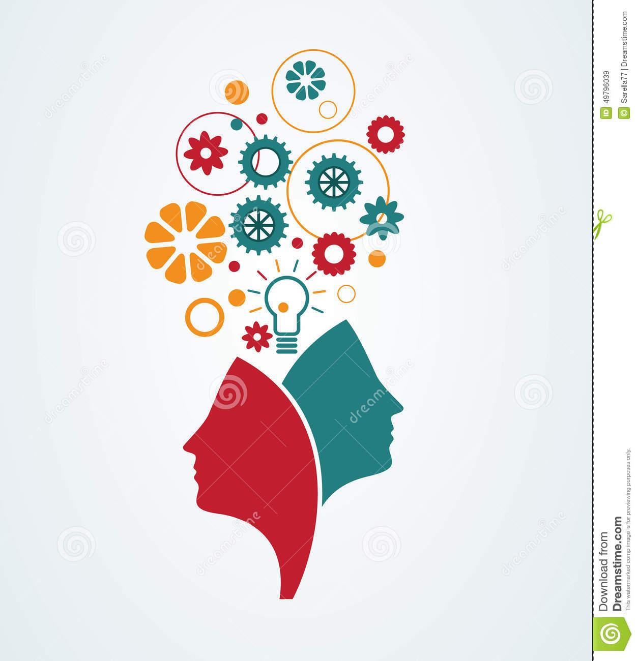 Mind clipart creativity Minds creative (60+) clipart illustration