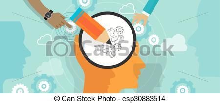 Mind clipart creativity Design mind mind Vector head