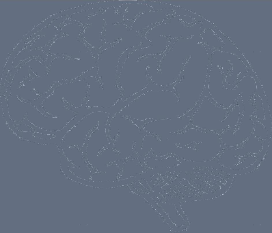Drawn brain transparent background #7