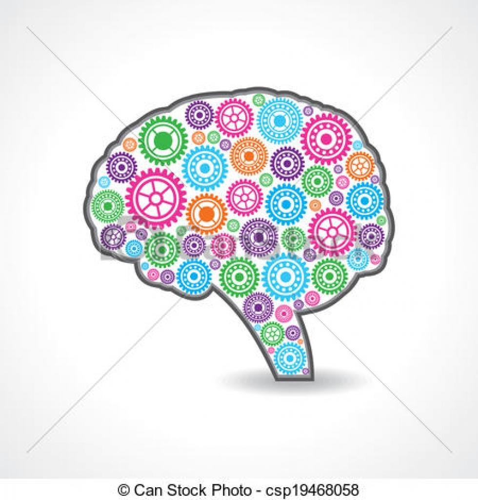 Mind clipart part the brain Brain mind brain creative illustrations