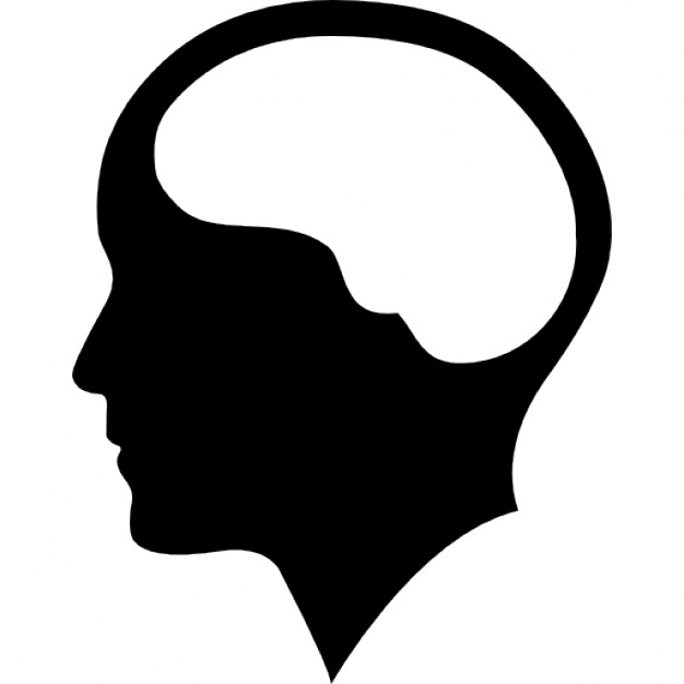 Brains clipart silhouette Clipartion Clipart com Clipart Head