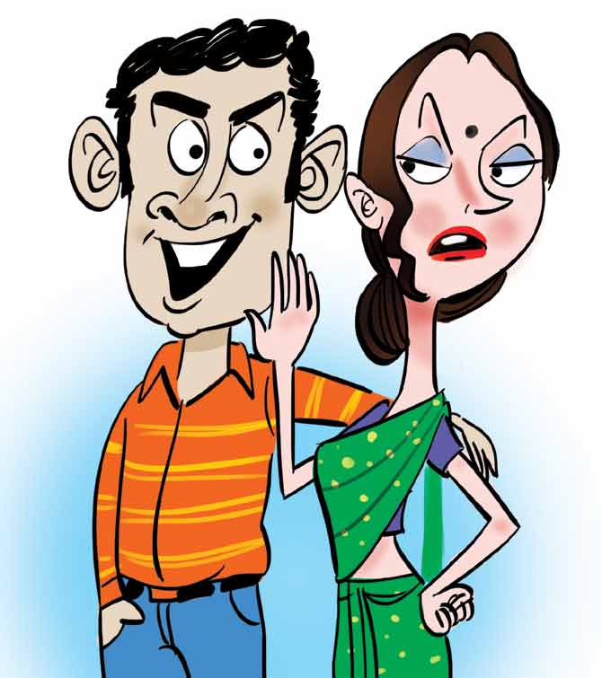 Mind clipart suspicious Suspicious be wife not from