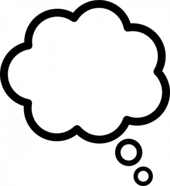 Mind clipart thought Clipart Cloud clip Thought art