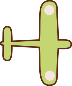 Airplane clipart brown Plane Twirling Clipart Twirling Plane