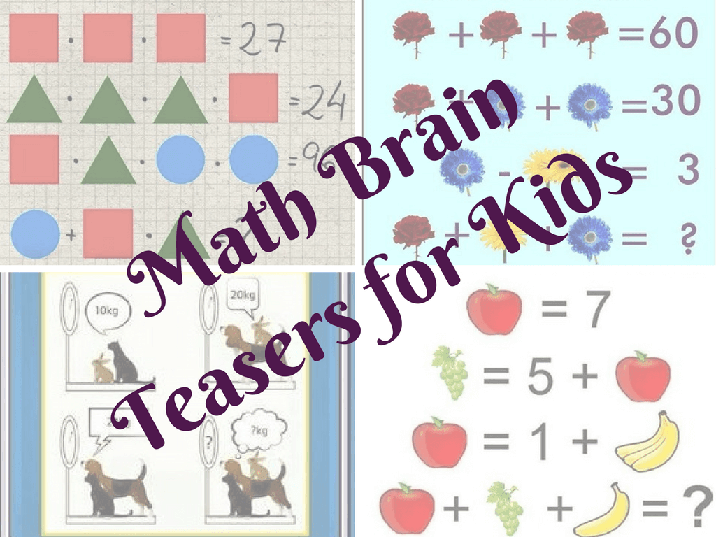 Brains clipart math brain Brain Kids for Teasers with