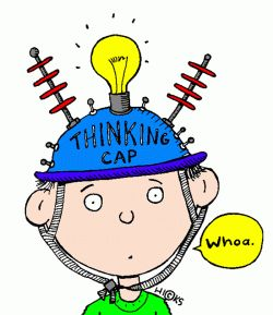 Mind Teaser clipart metacognition & education Thinking with Thinking