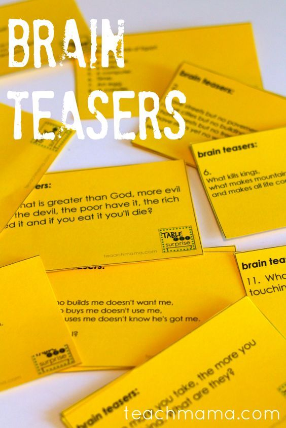 Mind Teaser clipart top student Teasers 25+ on teasers for