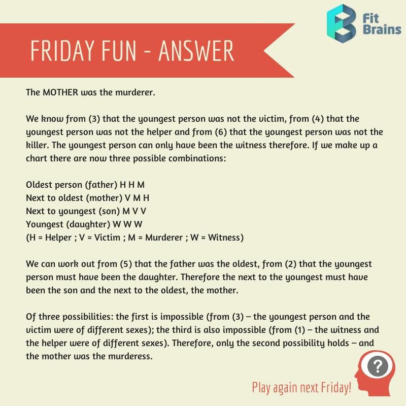 Mindteaser clipart brain workout Mystery Puzzles – Riddles Teaser