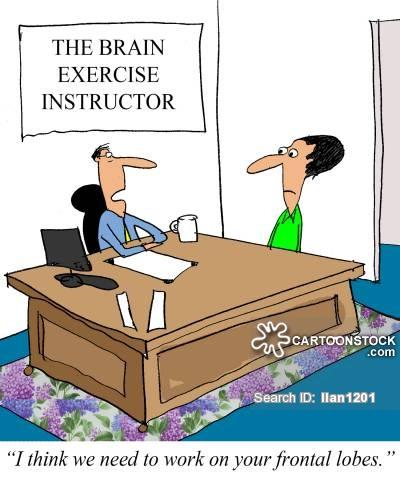 Mindteaser clipart brain workout 3 funny Cartoons Comics cartoon