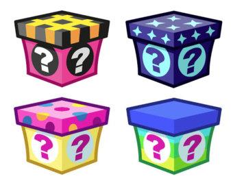 Mystery clipart present Melts Etsy Mystery Box Box