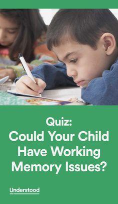 Mindteaser clipart working memory Memories Children How It Strengthening
