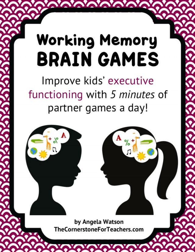 Mindteaser clipart working memory 5 executive improve working day