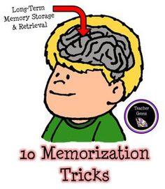 Mindteaser clipart working memory Function kids'  MemoryStudy Tricks