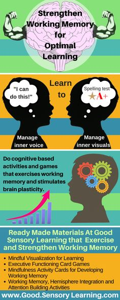 Mindteaser clipart working memory Memory Games Boosting Working working