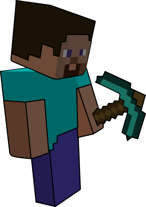 Minecraft clipart Imagine (1) and Tech That!