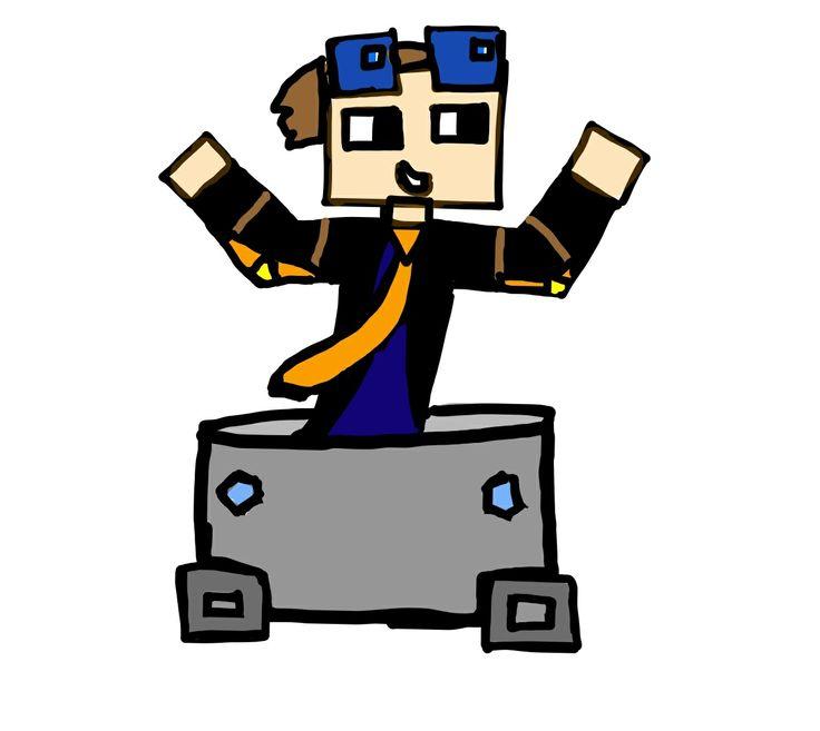 Minecraft clipart coal cart #8
