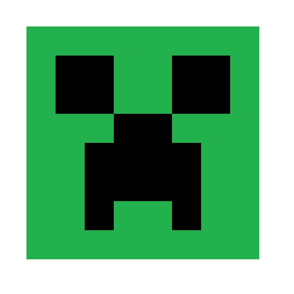Minecraft clipart creaper #3