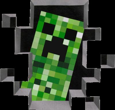 Minecraft clipart creaper #9
