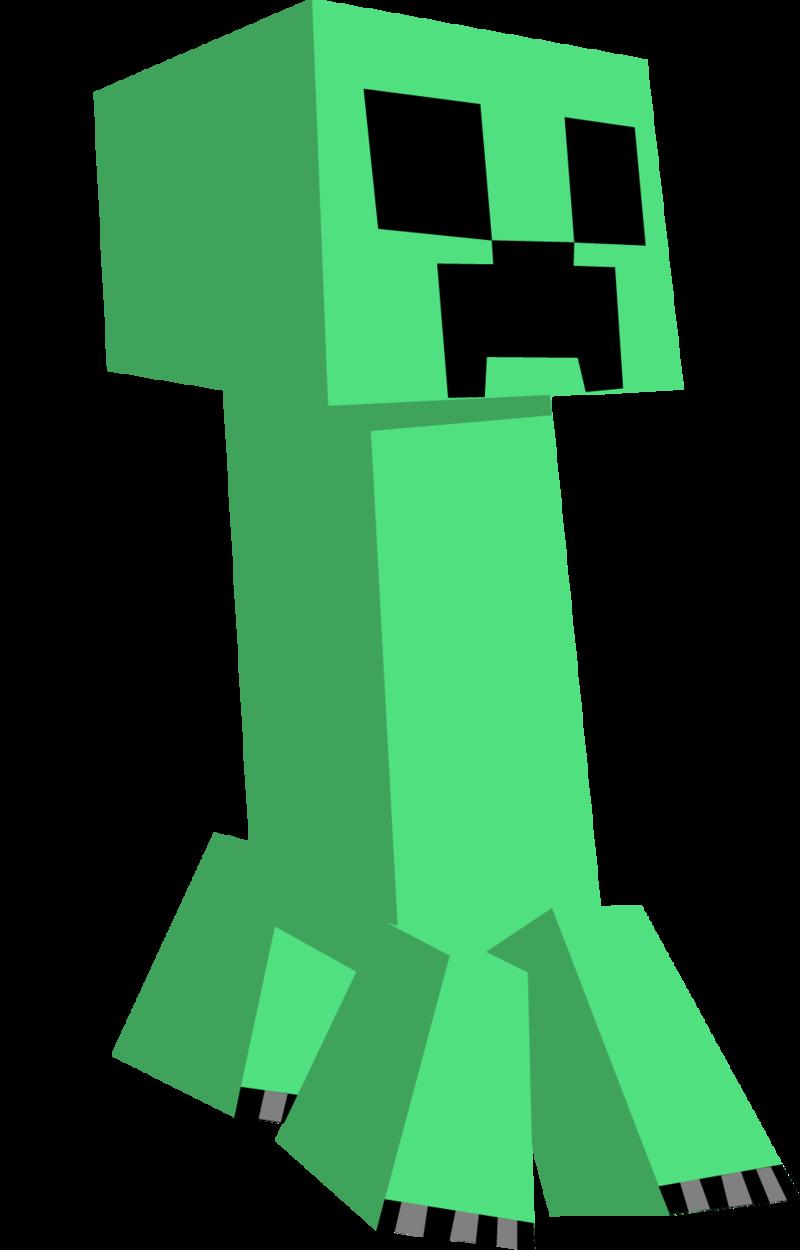 Minecraft clipart creaper #10