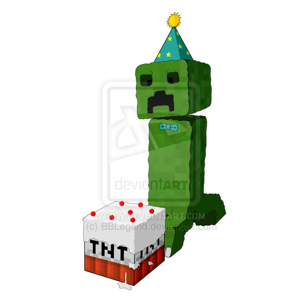 Minecraft clipart creaper #4
