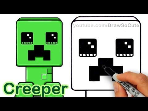 Drawn ninja minecraft And Easy Draw Cute a