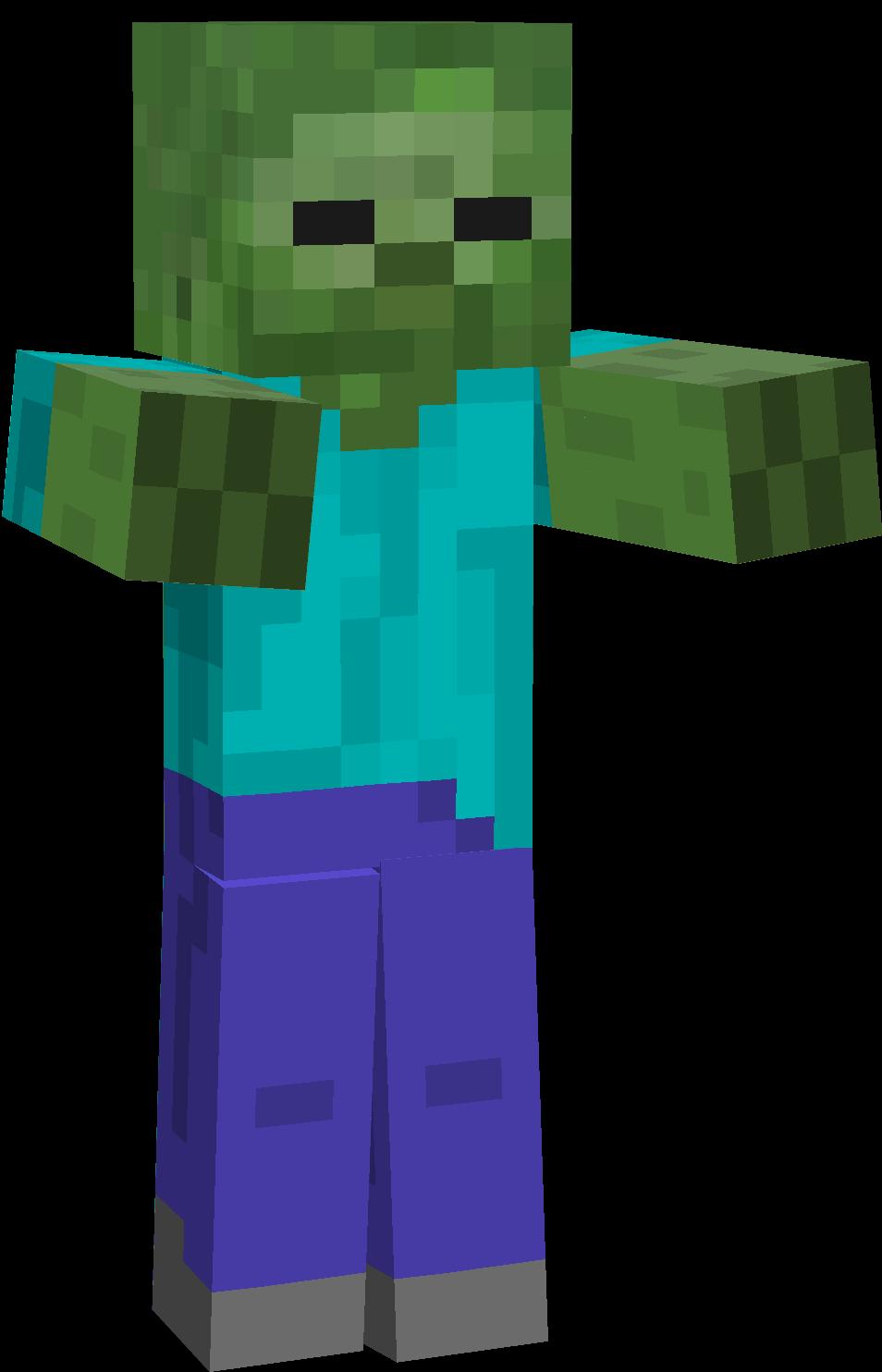 Minecraft clipart minecraft zombie Minecraft que Zombie  MegaPost