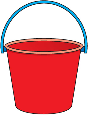 Yellow clipart pail Free images and clip shovel