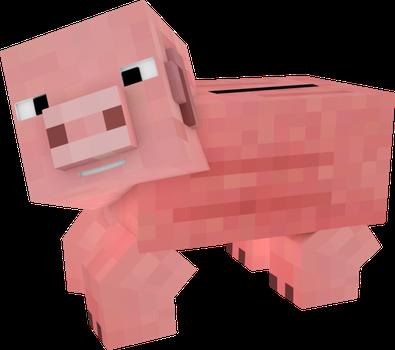 Minecraft clipart piggy Minecraft by Bank] by 12