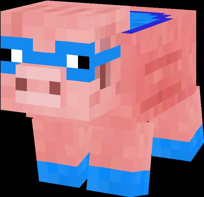 Minecraft clipart piggy Html: skin pig  pig