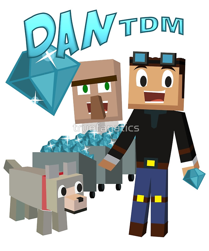 Minecraft clipart youtuber Redbubble Posters  Youtuber: