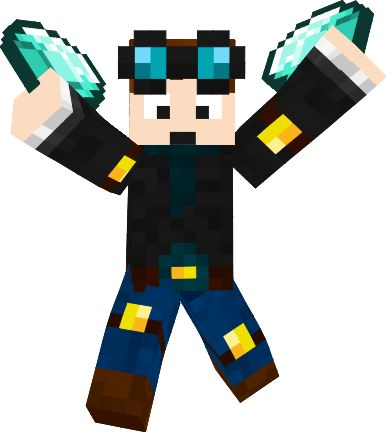 Minecraft clipart youtuber Skins and Craft  Pinterest