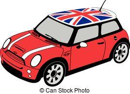 Mini clipart Mini Flag Stock Cooper EPS