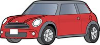 Mini clipart Cooper Size: Automobiles coupe Mini