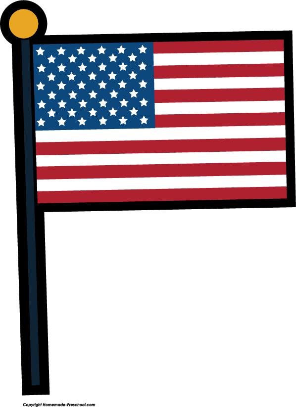 American Flag clipart cute Clipart black Cliparting free flag