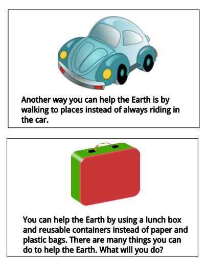 Mini clipart earth With Mini Comprehension Earth Questions