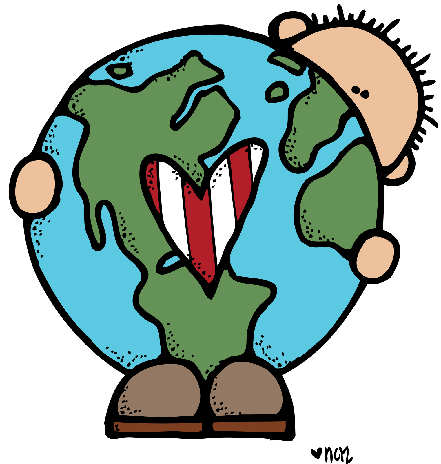 Mini clipart earth Or printable  for images