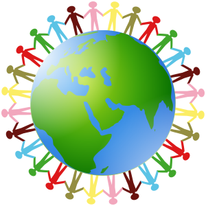 Mini clipart earth Hands Holding Earth Hands Clip
