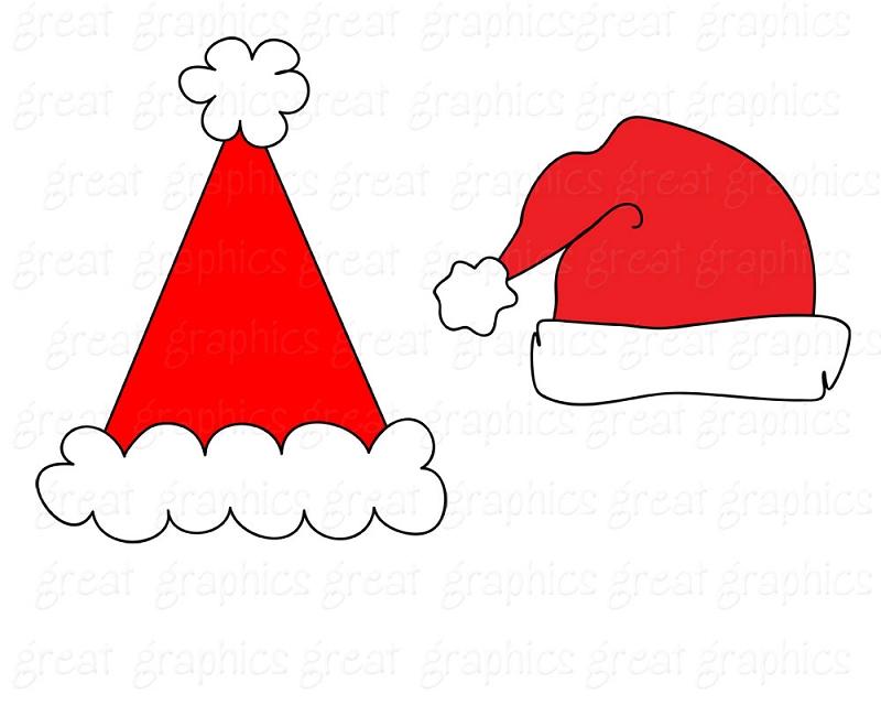 Santa Hat clipart printable #14