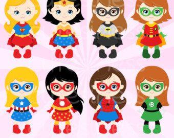 Mini clipart superheroes 76 on Clipart Clipart Pinterest