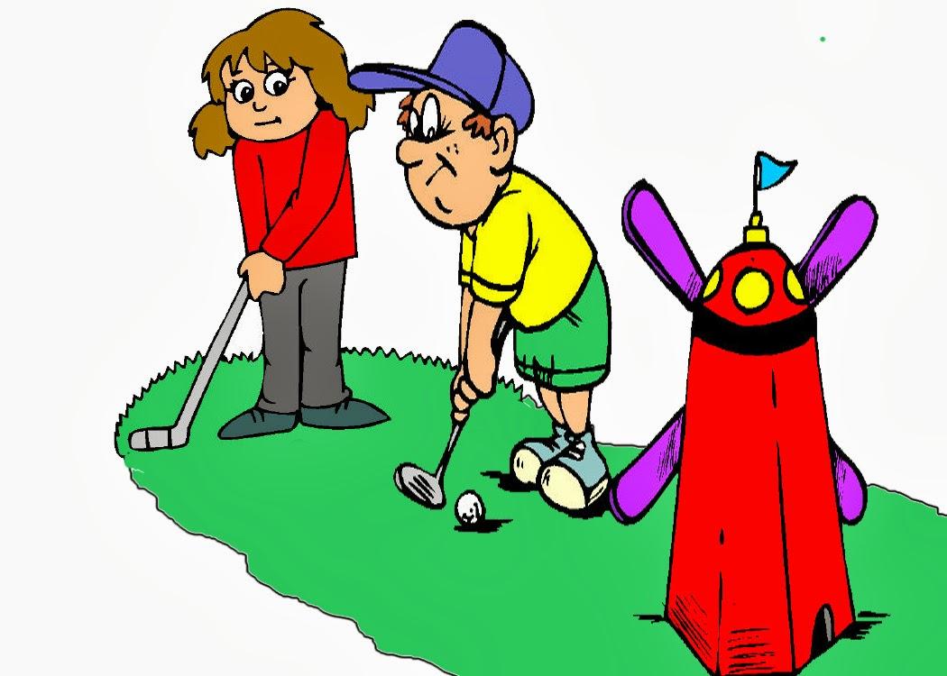 Golf Course clipart putt putt golf Art mini Mini Clipartion Clipart