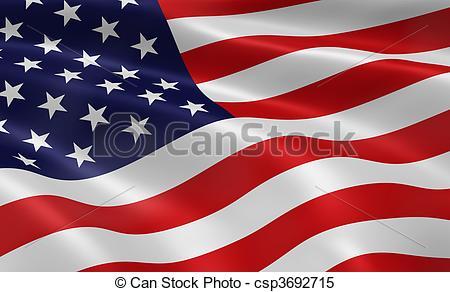 Miniature clipart american flag Flag of American American Flag