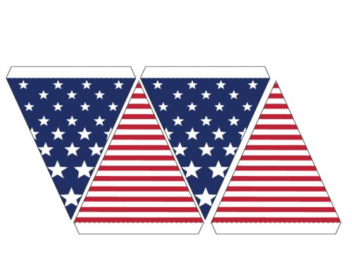 Miniature clipart american flag About of Stripes Banner July