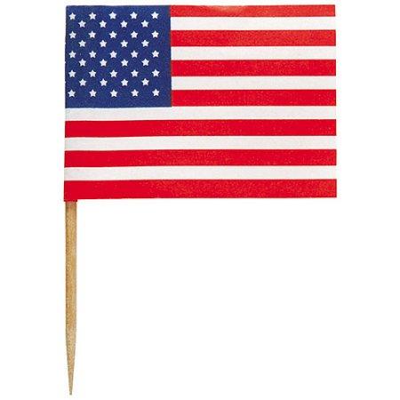 Miniature clipart american flag Walmart  American 30pk Flag